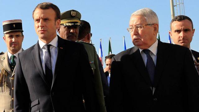 Macron-Alger-Polisario